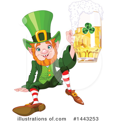 Leprechaun Clipart #1443253 by Pushkin