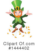 Royalty-Free (RF) Leprechaun Clipart Illustration #1444402