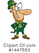 Leprechaun Clipart #1447553 by toonaday