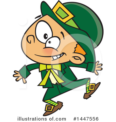Royalty-Free (RF) Leprechaun Clipart Illustration by toonaday - Stock Sample #1447556