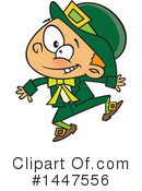 Royalty-Free (RF) Leprechaun Clipart Illustration #1447556