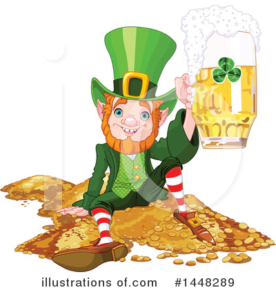 Leprechaun Clipart #1448289 by Pushkin