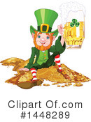 Royalty-Free (RF) Leprechaun Clipart Illustration #1448289