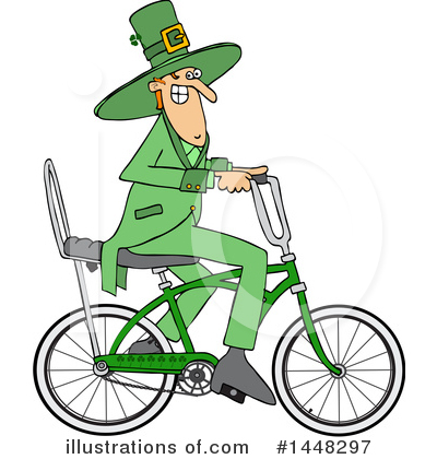 Leprechaun Clipart #1448297 by djart