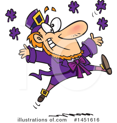 Leprechaun Clipart #1451616 by toonaday