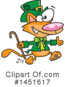 Royalty-Free (RF) Leprechaun Clipart Illustration #1451617