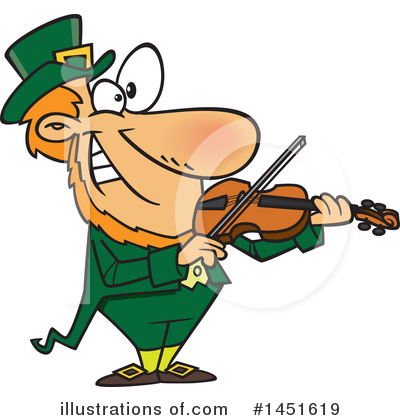 Leprechaun Clipart #1451619 by toonaday