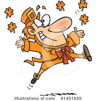 Leprechaun Clipart #1451620 by toonaday