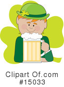 Royalty-Free (RF) Leprechaun Clipart Illustration #15033