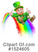 Royalty-Free (RF) Leprechaun Clipart Illustration #1524605