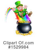 Leprechaun Clipart #1529984 by AtStockIllustration