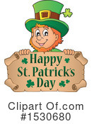 Leprechaun Clipart #1530680 by visekart