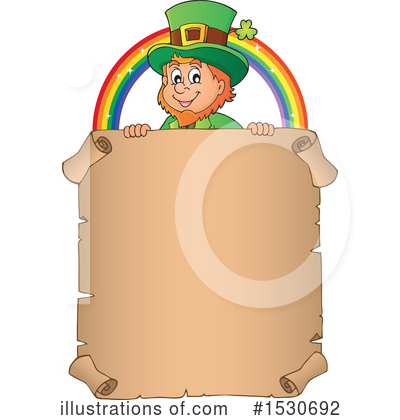Royalty-Free (RF) Leprechaun Clipart Illustration by visekart - Stock Sample #1530692