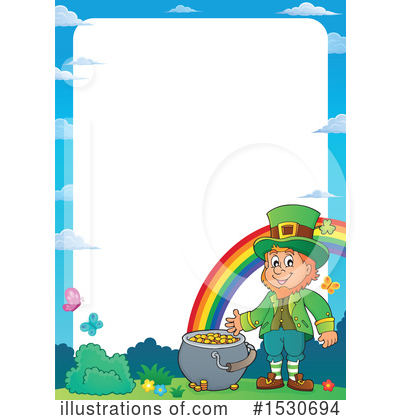 Royalty-Free (RF) Leprechaun Clipart Illustration by visekart - Stock Sample #1530694