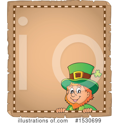 Royalty-Free (RF) Leprechaun Clipart Illustration by visekart - Stock Sample #1530699
