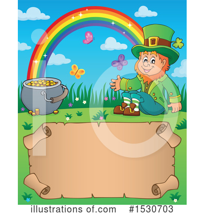 Leprechaun Clipart #1530703 by visekart