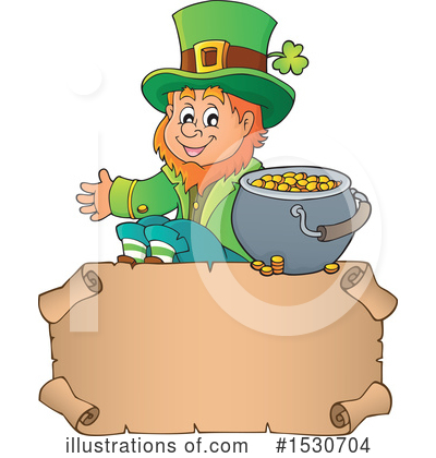Leprechaun Clipart #1530704 by visekart