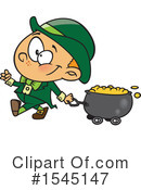 Leprechaun Clipart #1545147 by toonaday