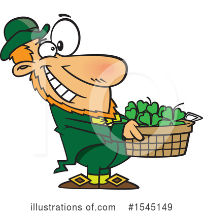 Leprechaun Clipart #1545149 by toonaday