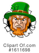 Leprechaun Clipart #1611698 by AtStockIllustration