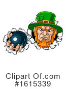 Leprechaun Clipart #1615339 by AtStockIllustration
