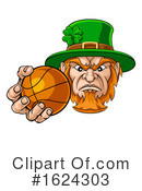 Leprechaun Clipart #1624303 by AtStockIllustration