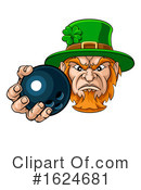 Leprechaun Clipart #1624681 by AtStockIllustration