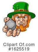Leprechaun Clipart #1625519 by AtStockIllustration