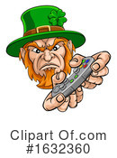 Leprechaun Clipart #1632360 by AtStockIllustration