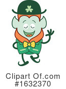Leprechaun Clipart #1632370 by Zooco