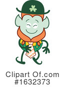 Leprechaun Clipart #1632373 by Zooco