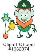 Leprechaun Clipart #1632374 by Zooco