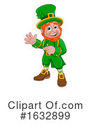 Leprechaun Clipart #1632899 by AtStockIllustration