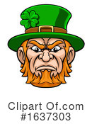 Leprechaun Clipart #1637303 by AtStockIllustration