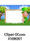 Leprechaun Clipart #1696507 by AtStockIllustration