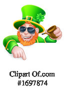 Leprechaun Clipart #1697874 by AtStockIllustration