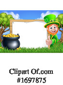 Leprechaun Clipart #1697875 by AtStockIllustration