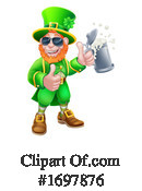 Leprechaun Clipart #1697876 by AtStockIllustration