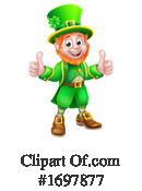 Leprechaun Clipart #1697877 by AtStockIllustration