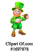 Leprechaun Clipart #1697878 by AtStockIllustration