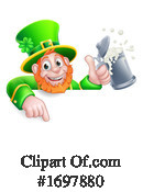 Leprechaun Clipart #1697880 by AtStockIllustration