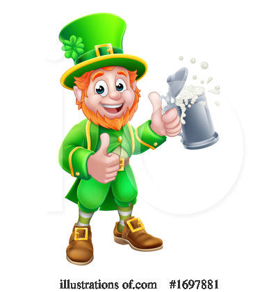 Royalty-Free (RF) Leprechaun Clipart Illustration by AtStockIllustration - Stock Sample #1697881