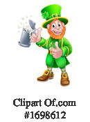 Leprechaun Clipart #1698612 by AtStockIllustration