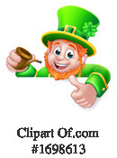 Leprechaun Clipart #1698613 by AtStockIllustration