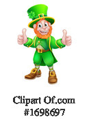 Leprechaun Clipart #1698697 by AtStockIllustration