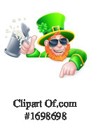 Leprechaun Clipart #1698698 by AtStockIllustration