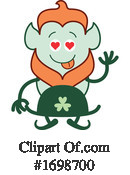Leprechaun Clipart #1698700 by Zooco