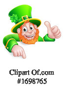 Leprechaun Clipart #1698765 by AtStockIllustration