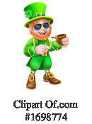 Leprechaun Clipart #1698774 by AtStockIllustration