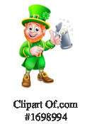 Leprechaun Clipart #1698994 by AtStockIllustration
